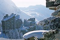 Europe/France/Rhône-Alpes/74/Haute-Savoie/Avoriaz: La station sous la neige