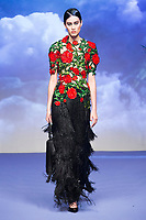 Richard Quinn<br /> Paris Fashion Week, Ready to Wear, Spring Summer 2019.  Paris, France in September 2018.<br /> CAP/GOL<br /> ©GOL/Capital Pictures