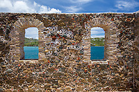 Hassel Island and ruins<br />
