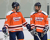 Samuel Cannata (Salem State - 29), Dan Smolinsky (Salem State - 28) - The visiting Salem State University Vikings defeated the Plymouth State University Panthers 5-2 on Thursday, November 18, 2010, at Hanaway Rink in Plymouth, New Hampshire.