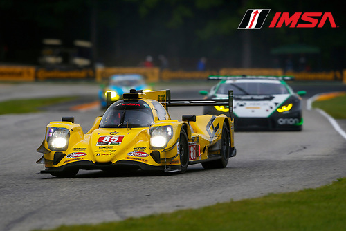 IMSA WeatherTech SportsCar Championship<br /> Continental Tire Road Race Showcase<br /> Road America, Elkhart Lake, WI USA<br /> Friday 4 August 2017<br /> 85, ORECA, P, Misha Goikhberg, Stephen Simpson<br /> World Copyright: Jake Galstad<br /> LAT Images
