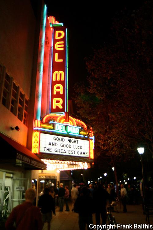 Del Mar Theatre, Pacific Ave.