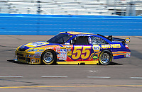 Apr 17, 2009; Avondale, AZ, USA; NASCAR Sprint Cup Series driver Michael Waltrip during practice for the Subway Fresh Fit 500 at Phoenix International Raceway. Mandatory Credit: Mark J. Rebilas-