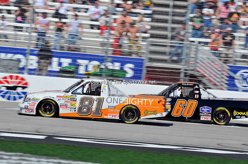 Mar 07, 2009; 2:25:53 PM; Hampton, GA, USA; NASCAR Camping World Truck Series race for the American Commercial Lines 200 at the Atlanta Motor Speedway.  Mandatory Credit: (thesportswire.net)