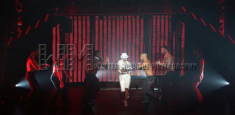 """Cast members perform in Broadway Cares/Equity Fights AIDS' """" Broadway Bares,  Rock Hard!"""" at Hammerstein Ballroom June 22, 2014 in New York City."""