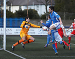 Sam Filler saves from Montrose duo Terry Masson and Martin Boyle