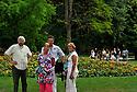 09/08/11 - VICHY - ALLIER - FRANCE - Promenade dans le Parc Napoleon III a Vichy - Photo Jerome CHABANNE