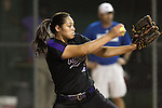 Cedar Ridge pitcher Breanna Hernandez pitches against Westlake at Thursday's Bi-District Game held at Noack Field in Austin.  The Raiders beat the Chaps 2-0.  (LOURDES M SHOAF for Round Rock Leader.)