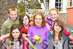 Enjoying themselves at the Killarney KDYS funday was l-r: Alan O'Riordan, Meagan O'Callaghan, Rachel McGowan, Claire O'Brien, Michaela Byrne and Siobhain Murphy Killarney