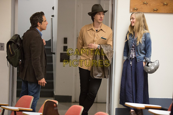 Ben Stiller, Adam Driver and Amanda Seyfried <br /> in While We're Young (2014)  <br /> *Filmstill - Editorial Use Only*<br /> CAP/NFS<br /> Image supplied by Capital Pictures