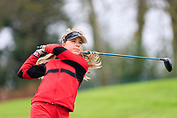 Amalie Leth-Nissen (Denmark) during the Irish Girls' Open Stroke Play Championship, Roganstown Golf Club, Swords, Ireland. 13/04/2018.<br /> Picture: Golffile | Fran Caffrey<br /> <br /> <br /> All photo usage must carry mandatory copyright credit (&copy; Golffile | Fran Caffrey)