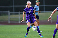 Piscataway, NJ - Wednesday Sept. 07, 2016: Kaylyn Kyle during a regular season National Women's Soccer League (NWSL) match between Sky Blue FC and the Orlando Pride FC at Yurcak Field.