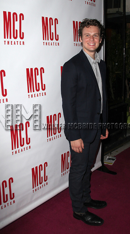 Jonathan Groff.attending the After Party for the MCC Theater World Premiere Production of 'The Submission' at 49 Grove in  New York City.