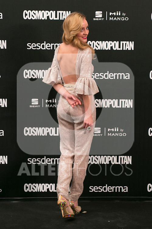 Angela Cremonte attend the photocall of the Cosmopolitan Fun Fearless Female 2014 Awards at the Ritz Hotel in Madrid, Spain. October 20, 2014. (ALTERPHOTOS/Carlos Dafonte)