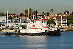 tug boat in Newport Beach