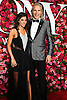 Jessica Rose and Corey Brunish arrives at The 72nd Annual Tony Awards on June 10, 2018 at Radio City Music Hall in New York, New York, USA. <br /> <br /> photo by Robin Platzer/Twin Images<br />  <br /> phone number 212-935-0770