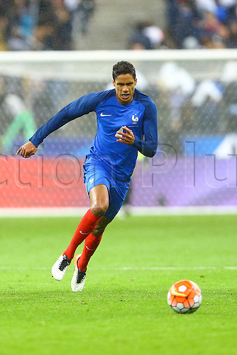 29.03.2016. Stade de France, Paris, France. International football friendly. France versus Russia.  Raphael Varane (France)