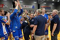 GRONINGEN - Volleybal, Abiant Lycurgus - Orion, Martiniplaza, Supercup , seizoen 2017-2018, 01-10-2017,  Lycurgus viert de overwinning