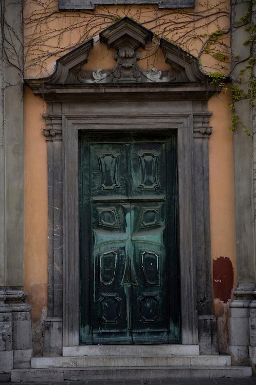 The architectural riches of Ljubljana in Slovenia.