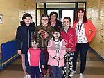 Christine Johnson who attended St. John's school Rathmullan in 1978 with her children Caitlin, Ciara, Danielle, Lauren and Sophie and organizer Fiona Gunn at the open day for past pupils. Photo:Colin Bell/pressphotos.ie
