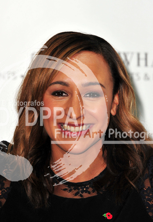 Jessica Ennis book signing at Waterstones, Canary Wharf, London, UK, November 9, 2012. Photo by Nils Jorgensen / i-Images / DyD Fotografos