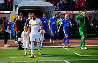 Saturday 22 September 2012 <br /> Pictured: Ashley Williams<br /> Barclays Premiership, Swansea City v Everton at the Liberty Stadium, south Wales.