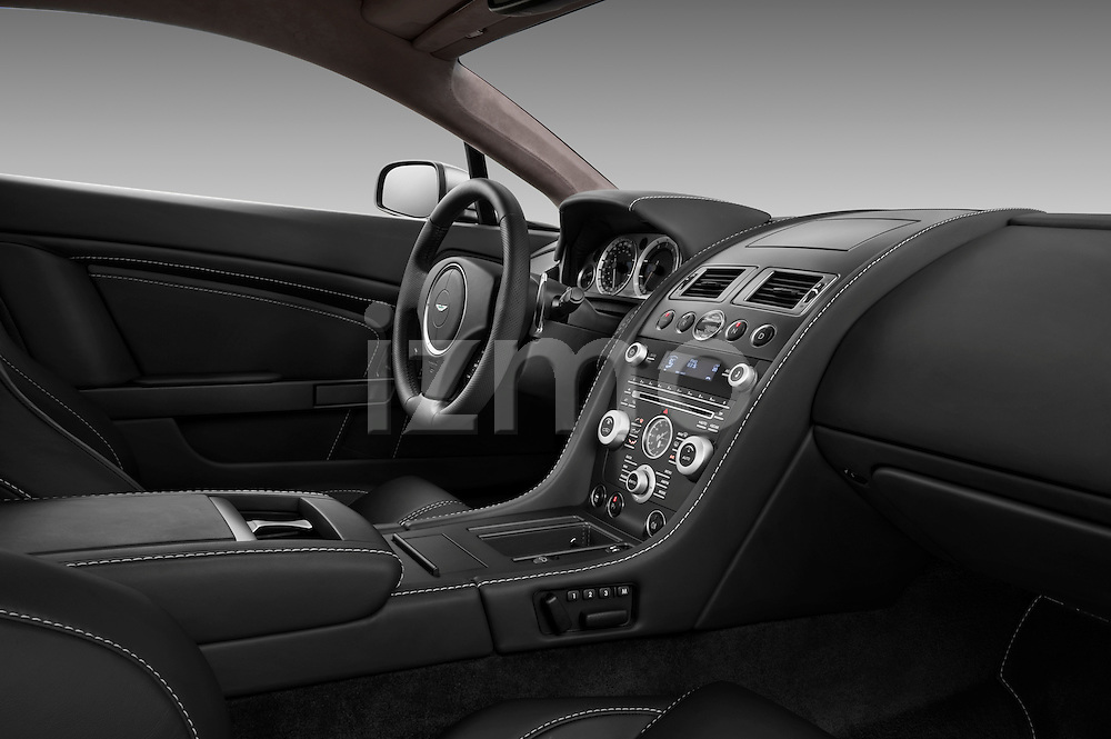 Passenger side dashboard view of a 2007 - 2009 Aston Martin Vantage V8 Roadster Coupe.