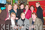 CHEERS: Having a drink for women's Christmas in McCarthy's Bar, Finuge, on Sunday night were, seated l-r: Mary McCarthy, Maria Moran, San Francisco and Mary Moran, Listowel. Back l-r: Catherine McCarthy, Pat and Maria Galvin, Finuge, Bridget O'Shea and Patricia Lyne, Killarney and Nollaig McCarthy, Finuge.   Copyright Kerry's Eye 2008