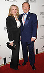 Steven F. Udvar-Hazy and wife arriving at the 11th Annual Living Legends of Aviation Awards, held at The Beverly Hilton Hotel