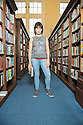 "Edinburgh, UK. 12.08.2014.  Rosie Wyatt, winner of The Stage Award for Acting Excellence 2014 and star of Clara Brennan's ""Spine"", in Central Library Edinburgh. © Jane Hobson."