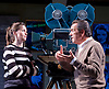 Prism <br /> by Terry Johnson <br /> at Hampstead Theatre, London, Great Britain <br /> press photocall <br /> 11th September 2017 <br /> <br /> <br /> Robert Lindsay as Jack Cardiff <br /> <br /> <br /> Rebecca Night as Lucy <br /> <br /> <br /> <br /> Designed by Tim Shortall<br /> Lighting by Ben Ormerod<br /> Sound by John Leonard <br /> Casting by Suzanne Crowley and Gilly Poole <br /> <br /> <br /> Photograph by Elliott Franks <br /> Image licensed to Elliott Franks Photography Services
