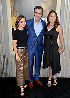"LOS ANGELES, USA. August 06, 2019: Brian dArcy James, Jennifer Prescott & Daughter at the premiere of ""The Kitchen"" at the TCL Chinese Theatre.<br /> Picture: Paul Smith/Featureflash"