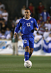 El Salvador's Ramiro Carballo on Tuesday, March 27th, 2007 at SAS Stadium in Cary, North Carolina. The Honduras Men's National Team defeated El Salvador 2-0 in a men's international friendly.