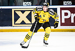 Stockholm 2014-11-16 Ishockey Hockeyallsvenskan AIK - IF Bj&ouml;rkl&ouml;ven :  <br /> AIK:s Jordan Hendry i aktion under matchen mellan AIK och IF Bj&ouml;rkl&ouml;ven <br /> (Foto: Kenta J&ouml;nsson) Nyckelord:  AIK Gnaget Hockeyallsvenskan Allsvenskan Hovet Johanneshov Isstadion Bj&ouml;rkl&ouml;ven L&ouml;ven IFB portr&auml;tt portrait