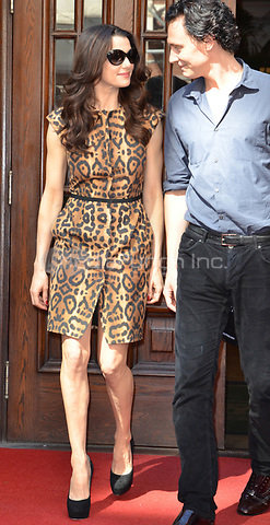 TORONTO, ON - SEPTEMBER 11:  Rachel Weisz leaving the Windsor Arms Hotel after stopping off at a gift lounge during this years 2011 Toronto International Film Festival.  on September 11, 2011 in Toronto, Canada.   <br />