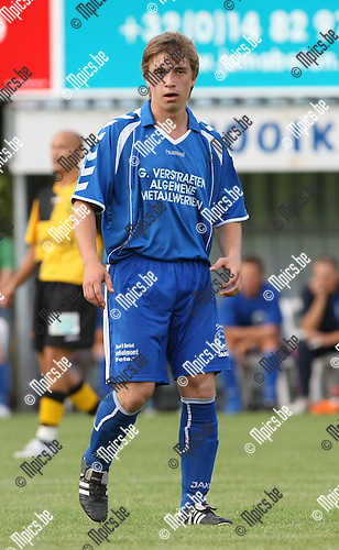 2009-07-20 / voetbal / seizoen 2009-2010 / KV Hooikt / Stijn Cools..Foto: Maarten Straetemans (SMB)