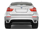Straight rear view of a 2008 BMW X6 Sports Activity Vehicle