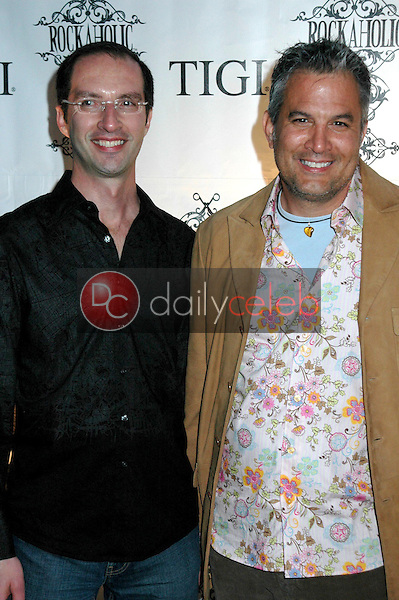 Daniel Curry and Andrew Zigman<br />at the Rockaholic Release Party. V20 the Venue, Long Beach, CA. 02-01-09<br />Dave Edwards/DailyCeleb.com 818-249-4998