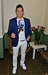 MIAMI, FL - FEBRUARY 12: Jorge Celedon backstage before  performing at James L Knight Center on February 12, 2016 in Miami, Florida. ( Photo by Johnny Louis / jlnphotography.com )