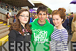 Pictured at Listowel Races on Sunday, from left: Maria O'Connor, Danny Costello and Tara Kelly, all from Listowel..