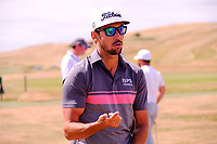 Rafa Cabrera Bello (ESP) during the preview of the Aberdeen Standard Investments Scottish Open, Gullane Golf Club, Gullane, East Lothian, Scotland. 11/07/2018.<br /> Picture Fran Caffrey / Golffile.ie<br /> <br /> All photo usage must carry mandatory copyright credit (&copy; Golffile | Fran Caffrey)