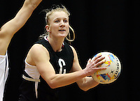 05.08.2015 Silver Ferns Shannon Francois during Silver Ferns training ahead of the 2015 Netball World Champs at All Phones Arena in Sydney, Australia. Mandatory Photo Credit ©Michael Bradley.