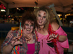 Lorna and Cory during the Zombie Crawl held on Saturday night, October 26, 2019 in downtown Reno.