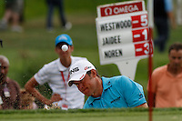 Lee Westwood (ENG) on the 13th on the 1st day of the Omega European Masters, Crans-Sur-Sierre, Crans Montana, Switzerland..Picture: Golffile/Fran Caffrey..