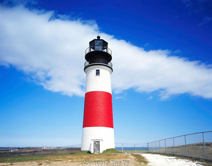 Sankaty Head Lighthouse, Nantucket Island, Massachusetts