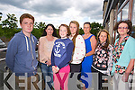 Thomas Wright, Julie O'Connor, NIcola Casey, Katelyn Sheehy, Geraldine Walsh, Sandra Ward and Geraldine Hennessy of Shanakill Family Resource Centre Youth Group at the Youth Union Community Awards at Fels point Hotel on Monday