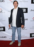 HOLLYWOOD, LOS ANGELES, CA, USA - AUGUST 28: Michael Pare arrives at the Los Angeles Premiere Of '24 Hours' held at Raleigh Studios on August 28, 2014 in Hollywood, Los Angeles, California, United States. (Photo by Xavier Collin/Celebrity Monitor)