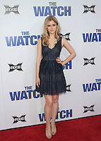 Erin Moriarty arrives at 'The Watch' Premiere Sponsored by AXE at Grauman's Chinese Theatre on July 23, 2012 in Hollywood, California MPI25 / Mediapunchinc /*NortePhoto.com*<br />