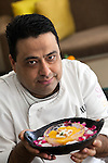 31/05/12_Manish Mehrotra chef at Indian Accent restaurant