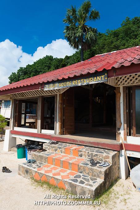 Lighthouse Restaurant In Phangan island, Thailand